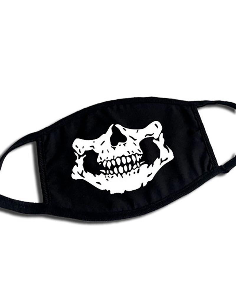 Phiz Print Ear Loop Breathable Mouth Mask thumbnail