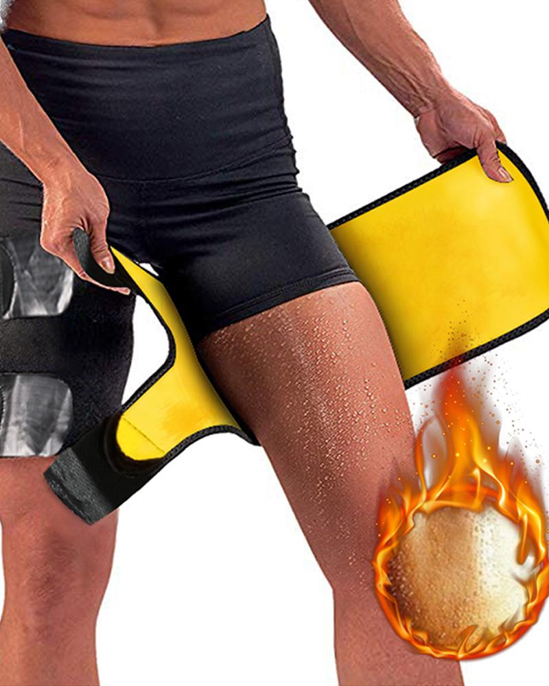 Thigh Trimmer Leg Shapers Slimming Belt Neoprene Sweat Shapewear thumbnail