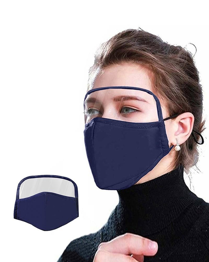 Outdoor Face Protective Face Mask With Eyes Shield thumbnail