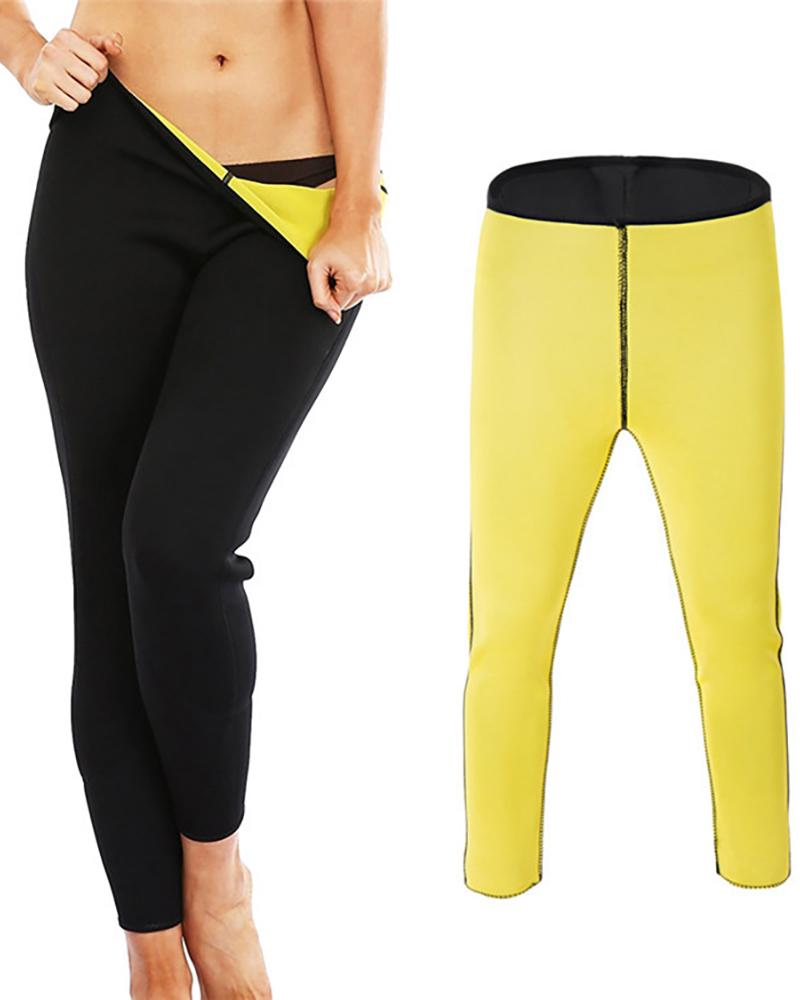 Neoprene Slimming Pants High Waist Tummy Control Shapewear thumbnail