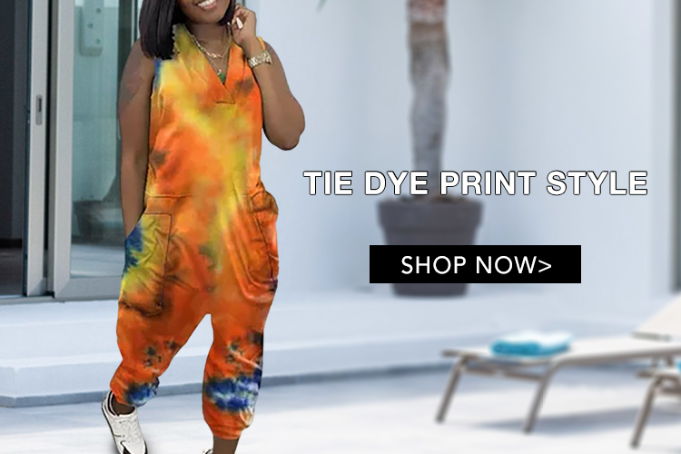 Tie Dye Print Style